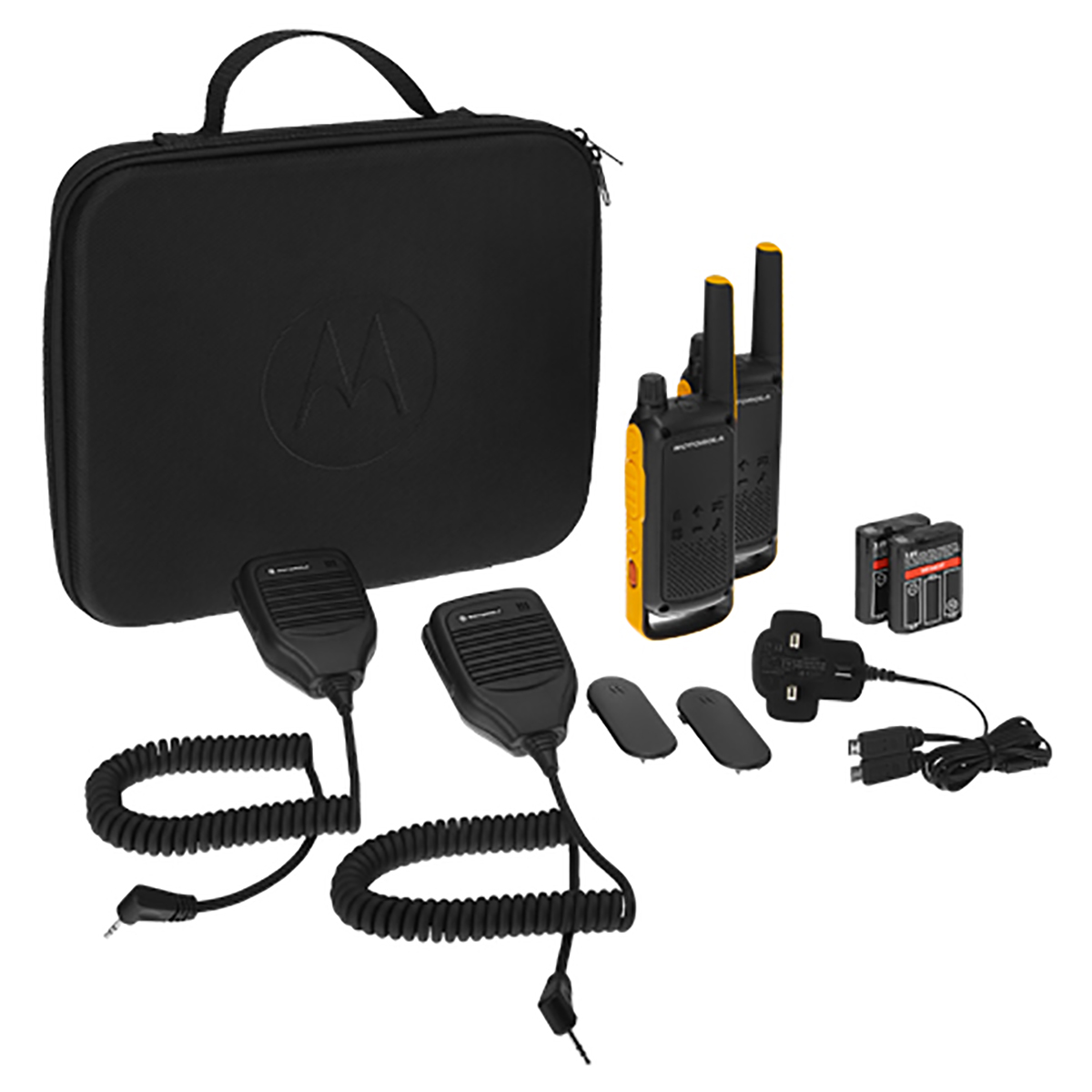 Motorola T82 Extreme Walkie Talkie RSM TWIN Pack