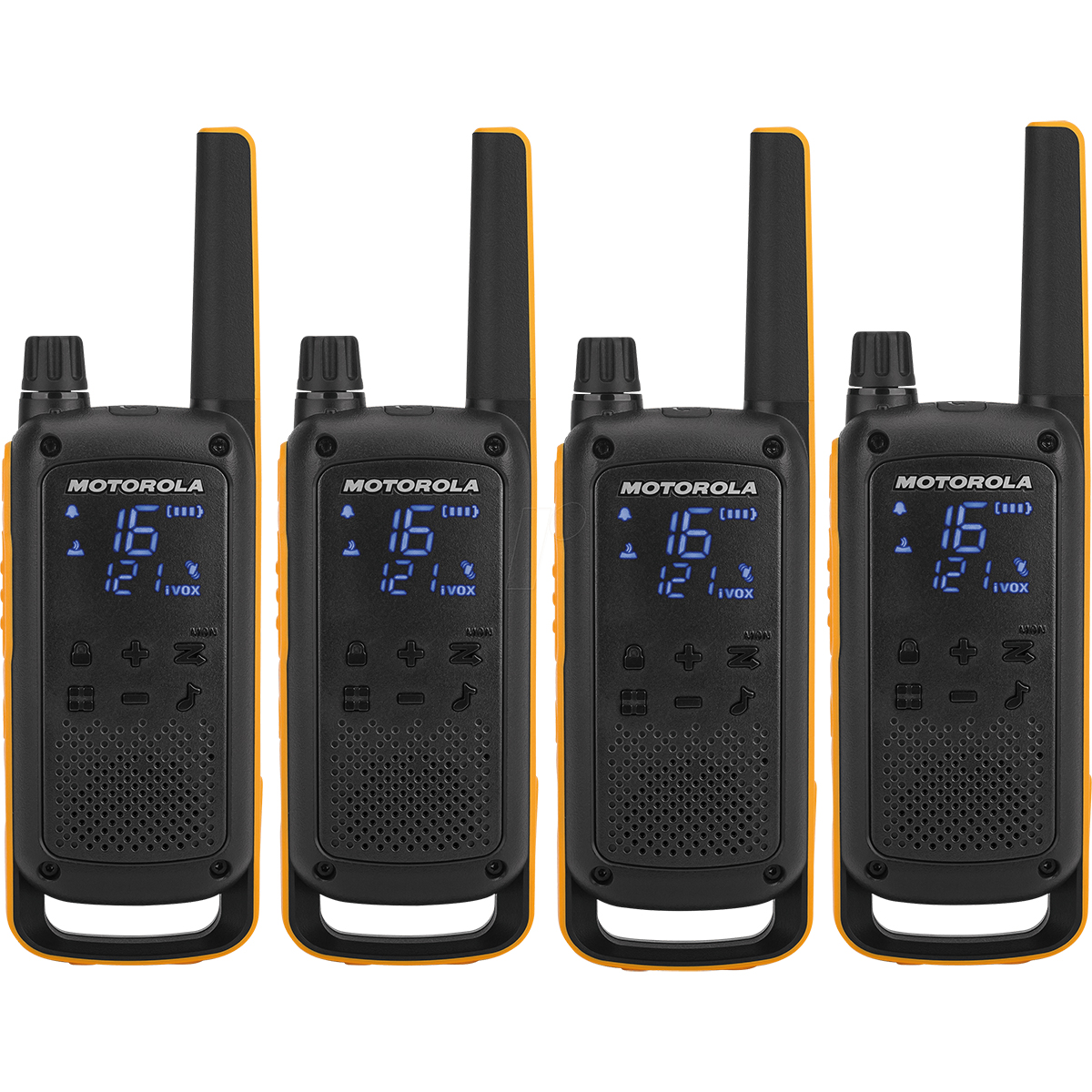 Motorola TLKR T82 Extreme Walkie Talkie Quad Pack