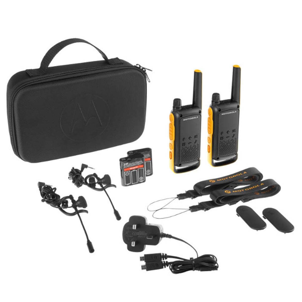Motorola TLKR T82 Extreme Walkie Talkie TWIN Pack
