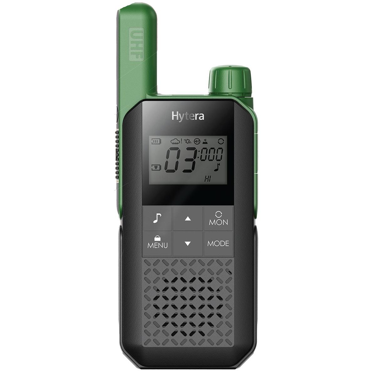 Hytera Push 2 Talk TF615 2 Way Radio Twin Pack
