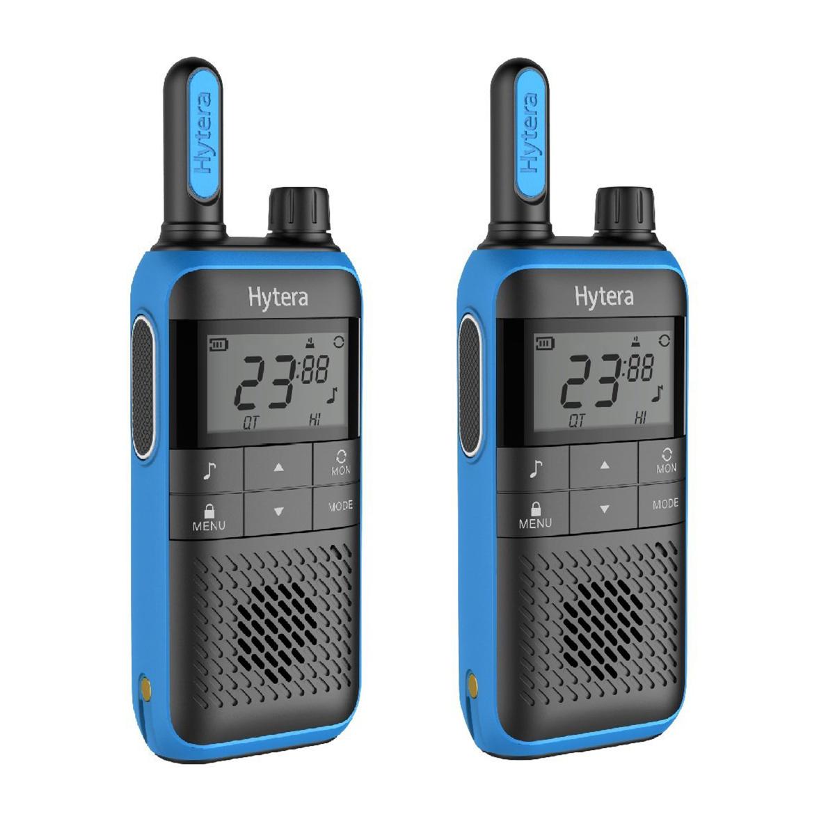 Hytera Push 2 Talk TF515 2 Way Radio Twin Pack
