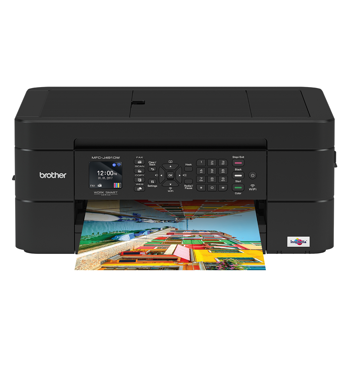 Brother MFC-J491DW Colour Inkjet Multifunction