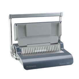 Fellowes Quasar Plus A4 Comb Binder and A4 Covers Bundle