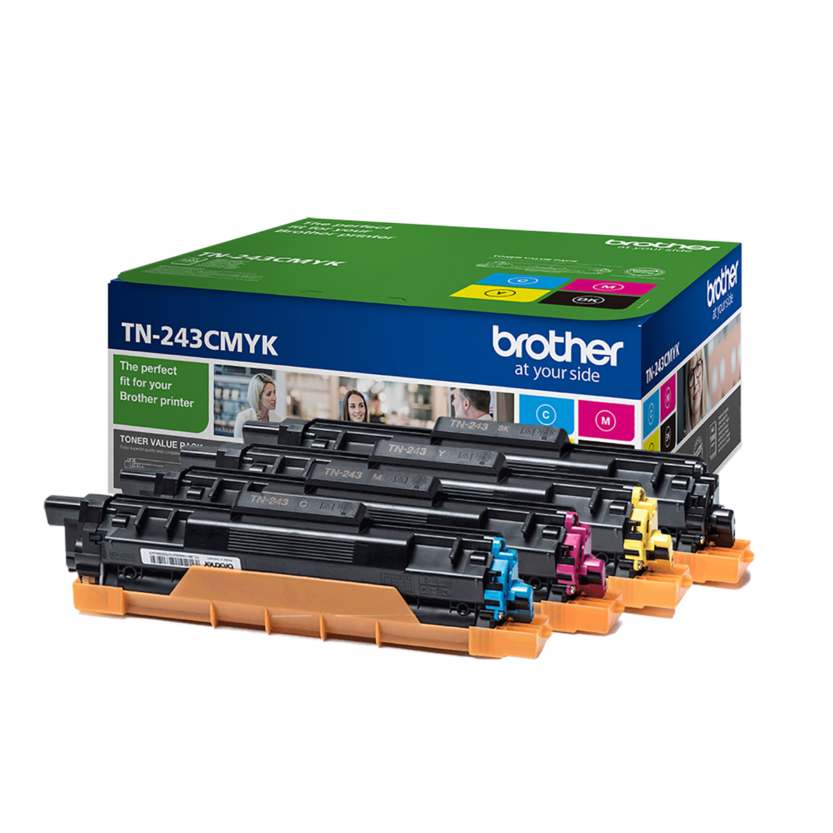 Brother TN-243CMYK Standard Toner Bundle