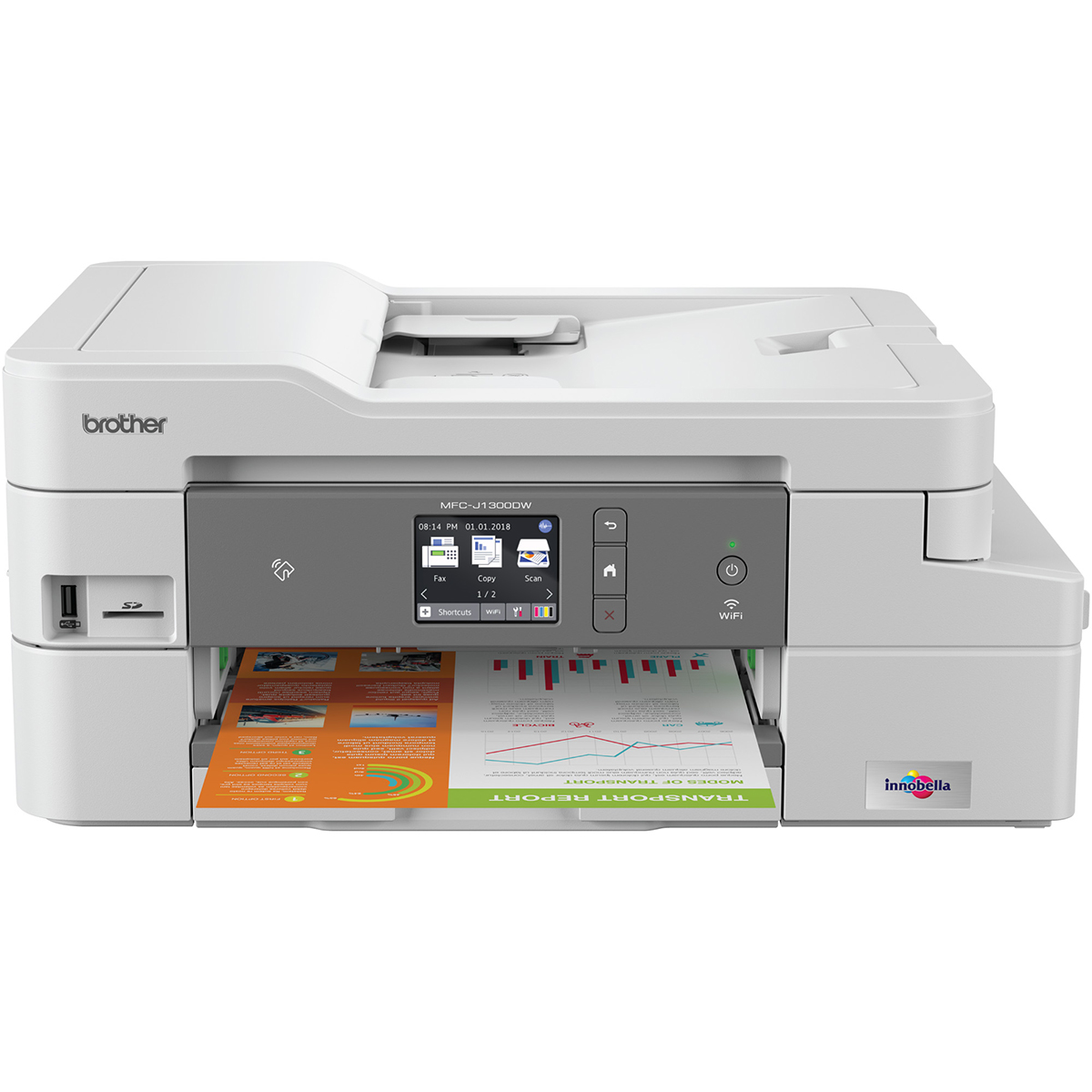 Brother MFC-J1300DW Colour Inkjet Multifunction
