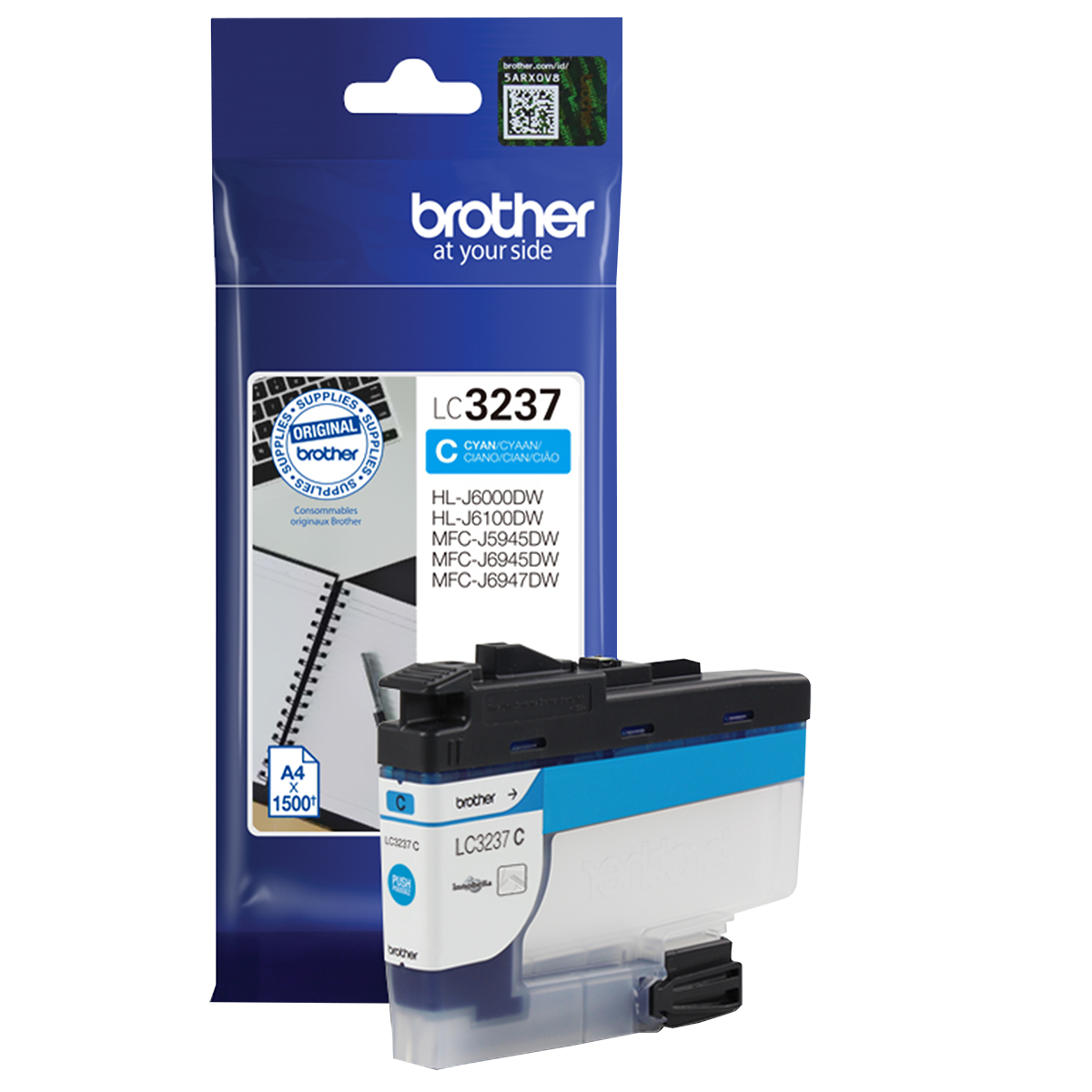 Brother LC3237C Cyan Inkjet Cartridge