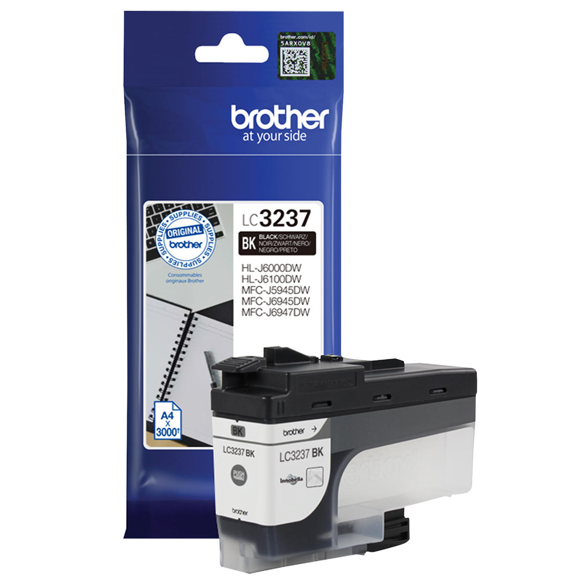 Brother LC3237BK Black Inkjet Cartridge