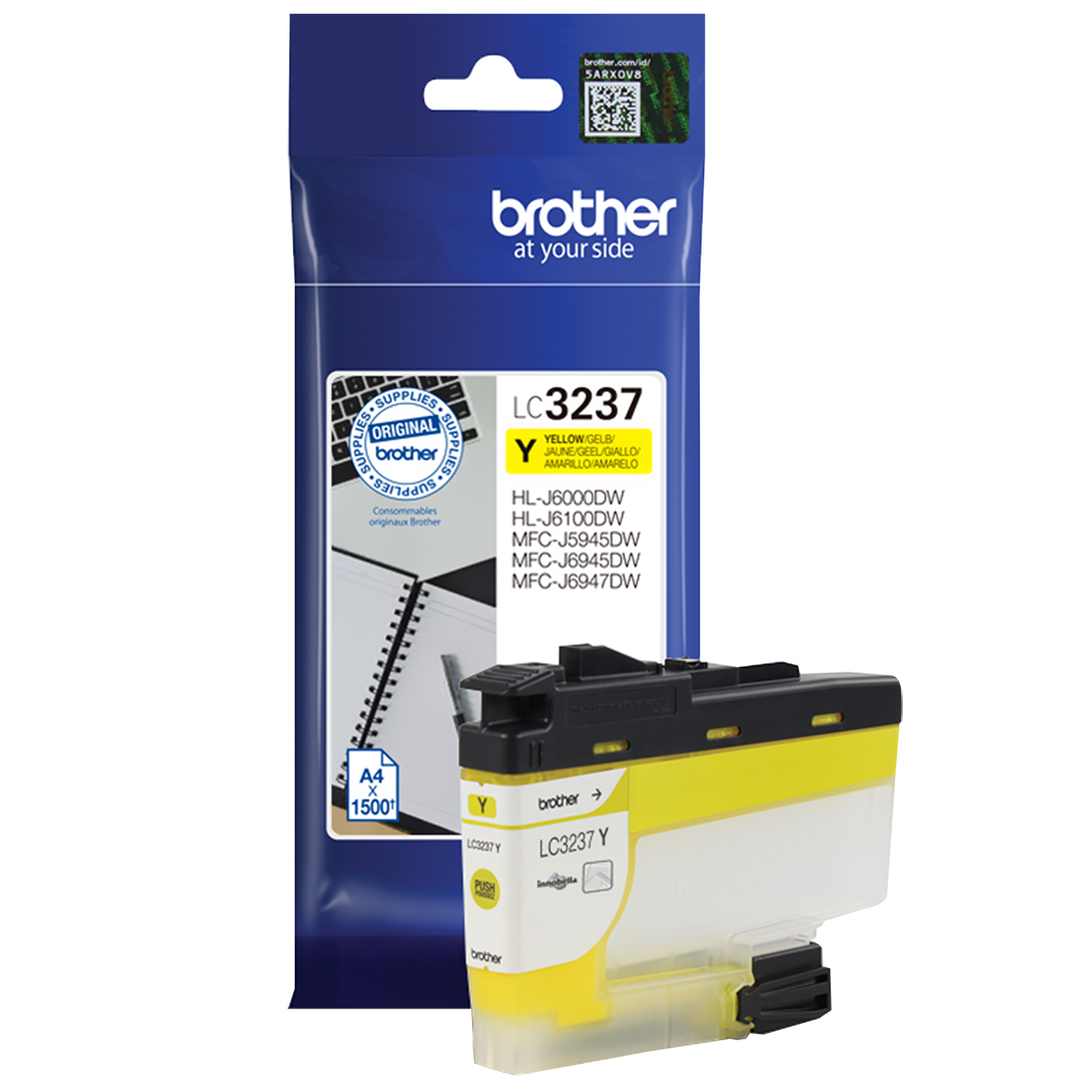 Brother LC3237Y Yellow Inkjet Cartridge