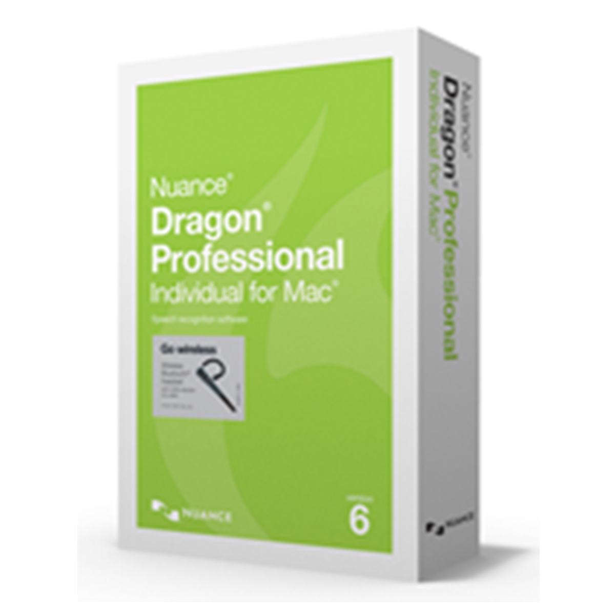 Nuance Dragon Professional Individual 6.0 for Mac English - Wireless