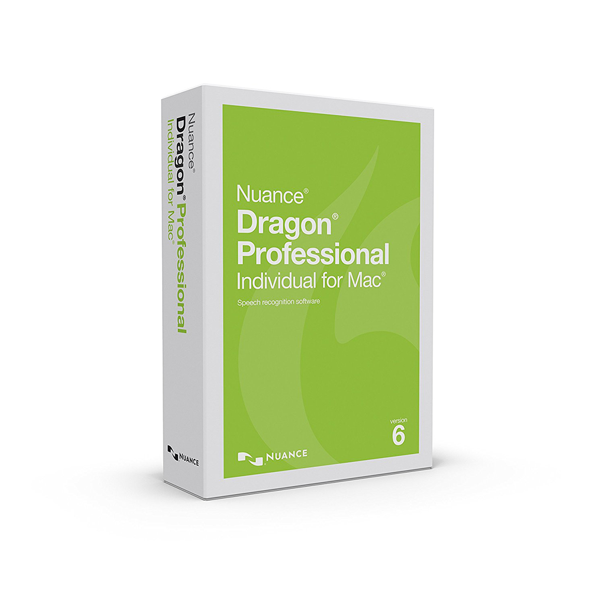 Nuance Dragon Professional Individual 6.0 for Mac English - Upgrade for Mac 4.0 and 5.0