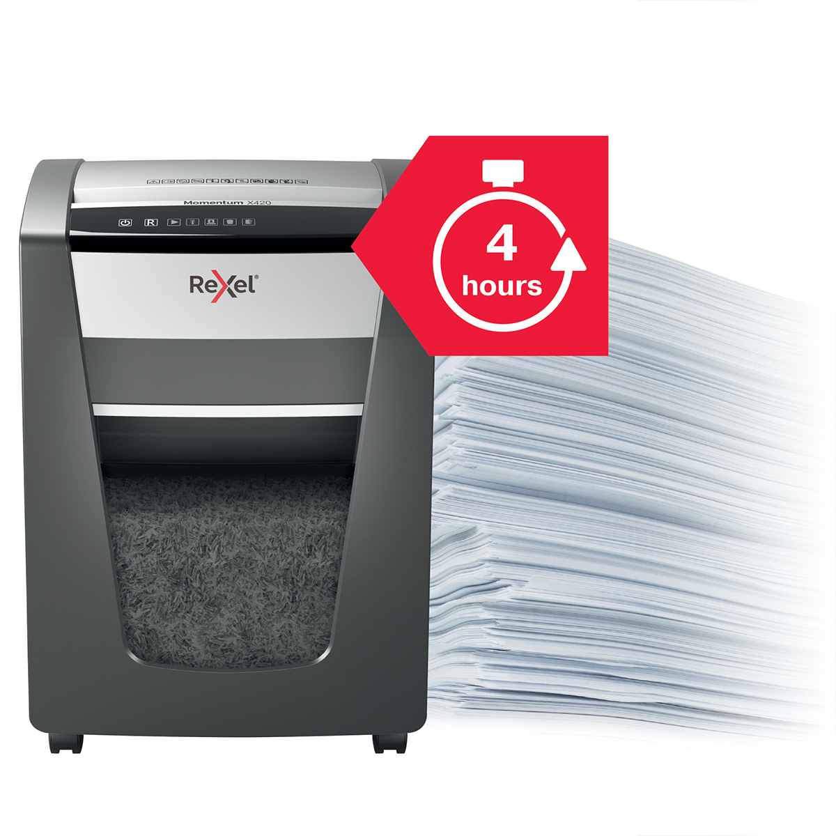 Rexel Momentum X420 Cross Cut Shredder