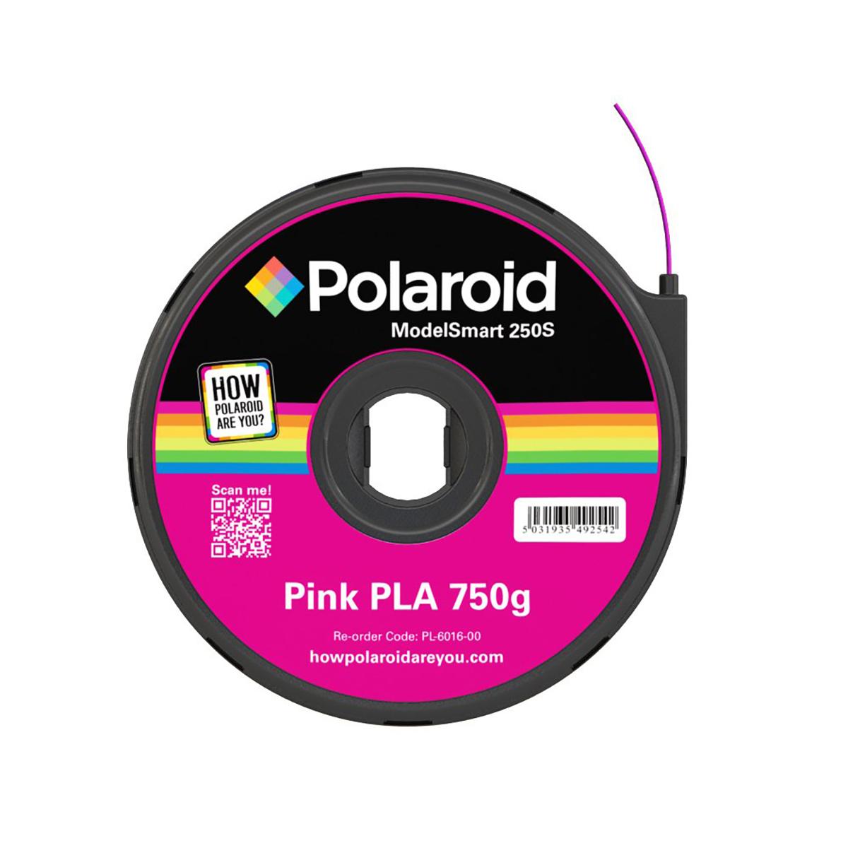 Polaroid ModelSmart 250S Pink Filament Cartridge - 750g