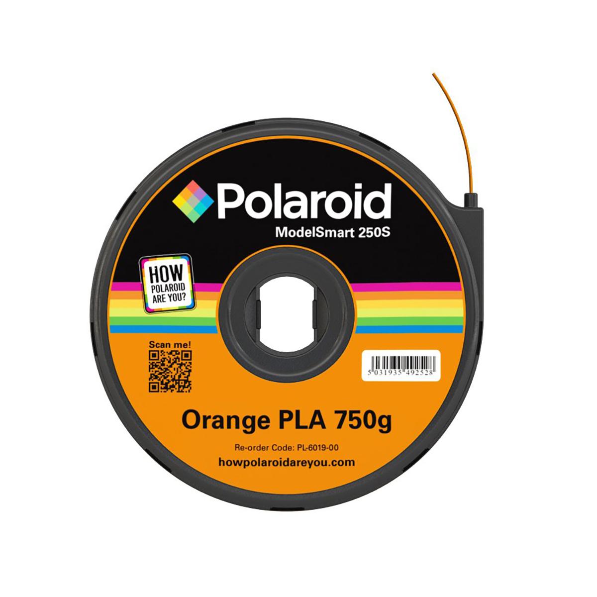 Polaroid ModelSmart 250S Orange Filament Cartridge - 750g