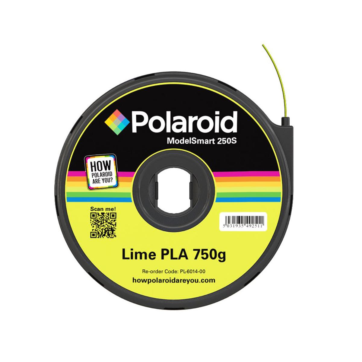 Polaroid ModelSmart 250S Lime Filament Cartridge - 750g