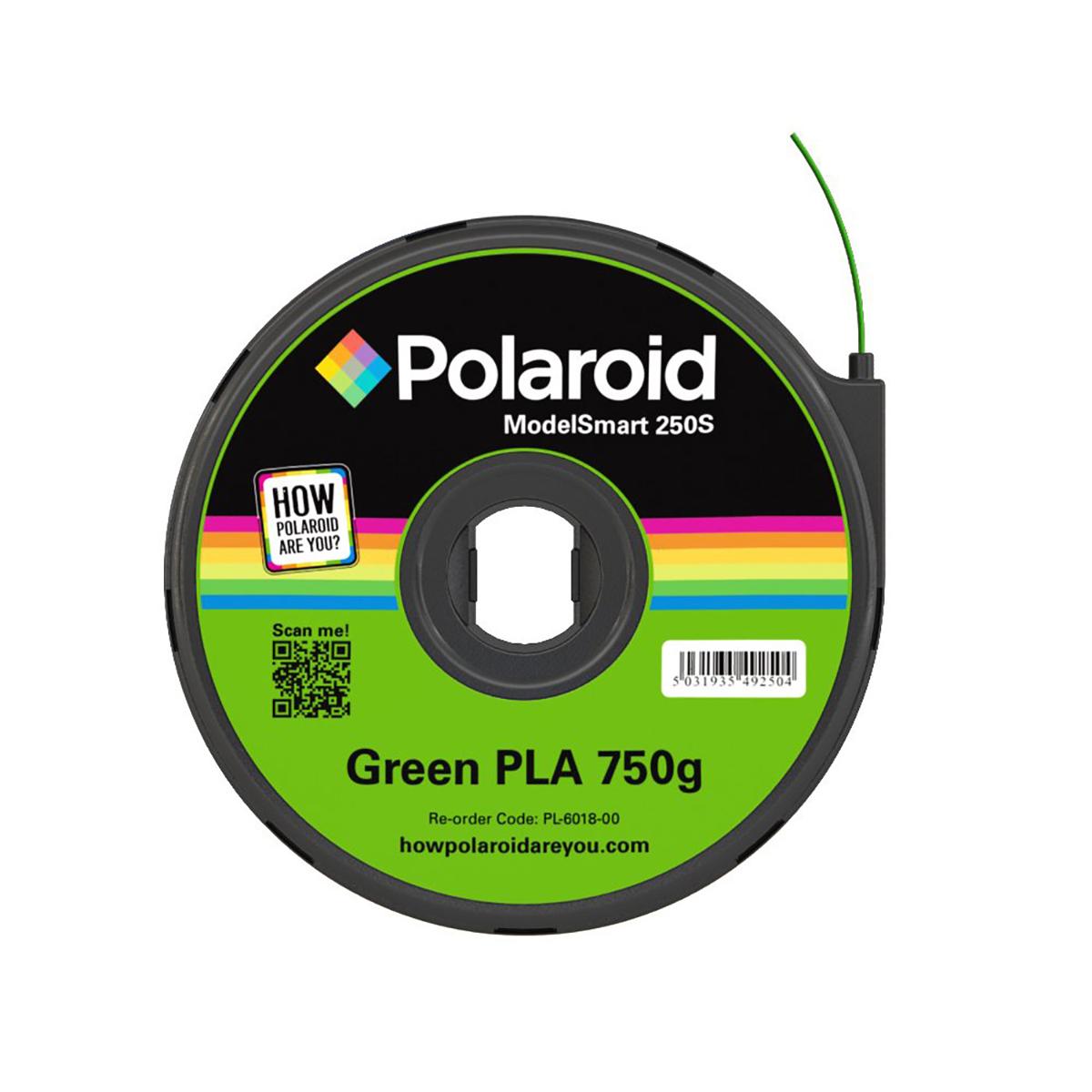 Polaroid ModelSmart 250S Green Filament Cartridge - 750g