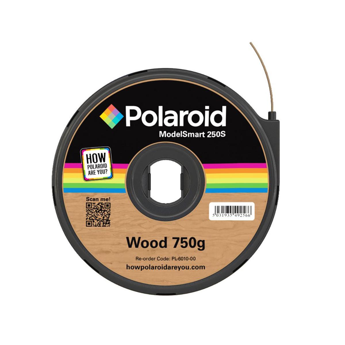 Polaroid ModelSmart 250S Wood Filament Cartridge - 750g