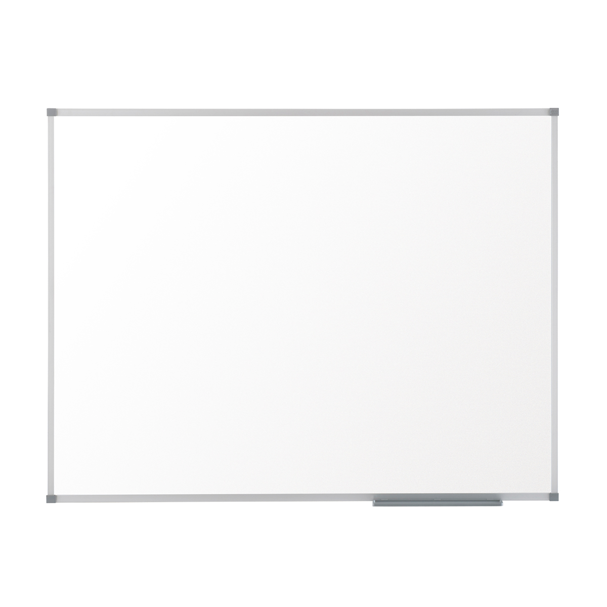 Nobo 1905203 Basic Melamine Non Magnetic Whiteboard with Basic Trim 1200 x 900mm