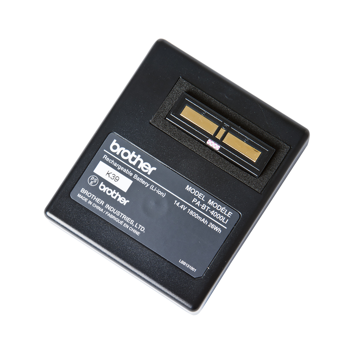 Brother PABT4000LI Li-ion battery for PT-D800W