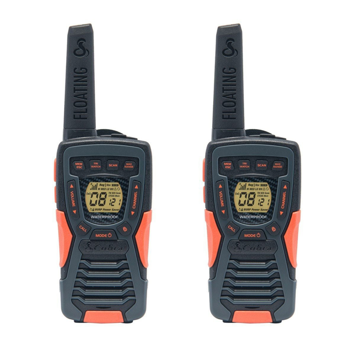 Cobra AM1035 12km 2-Way Adventure PMR Radio 1 Pair