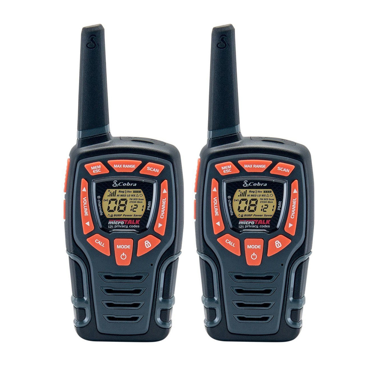 Cobra AM845 10km 2-Way Adventure PMR Radio 1 Pair