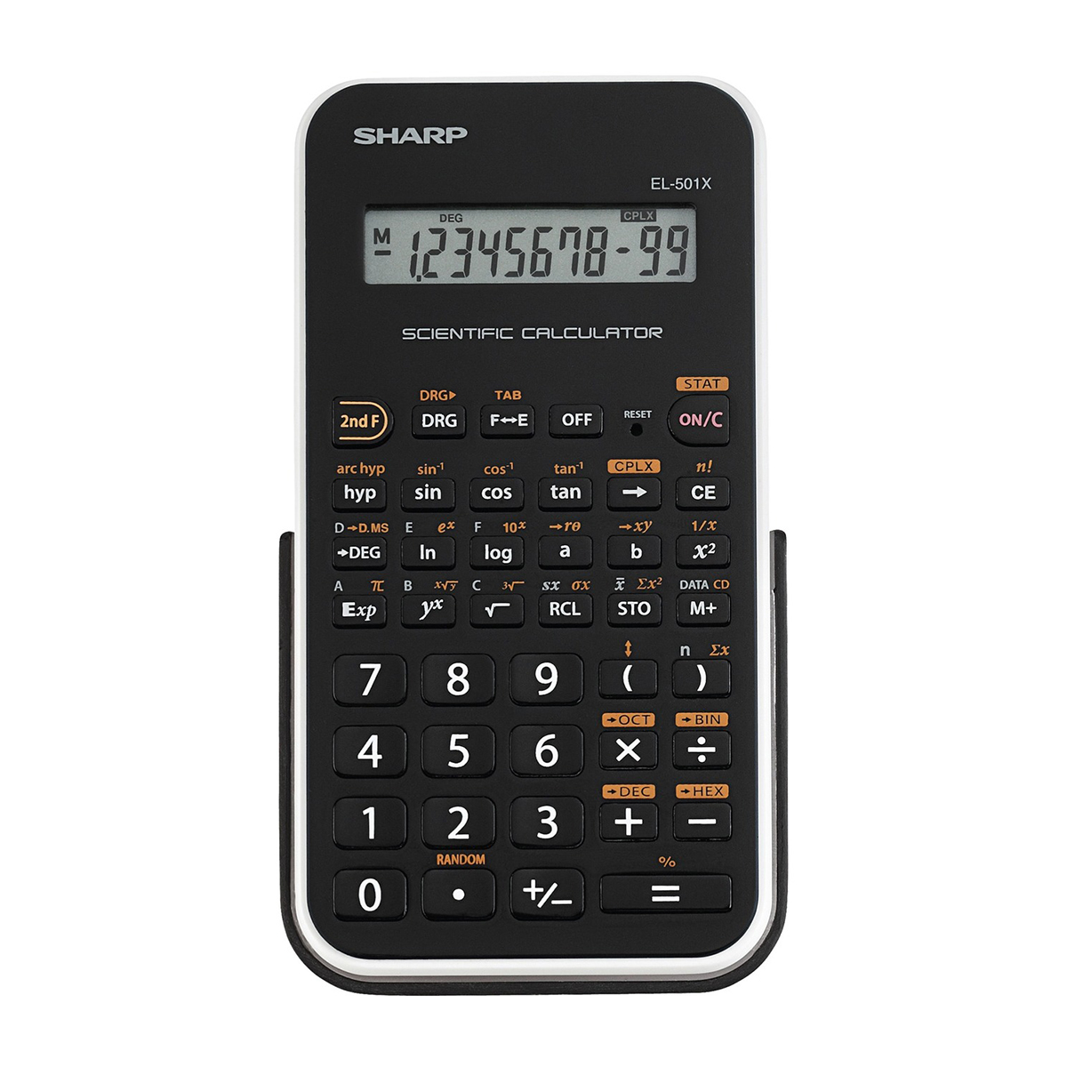 Sharp SH-EL501X 1 Line Scientific Calculator White