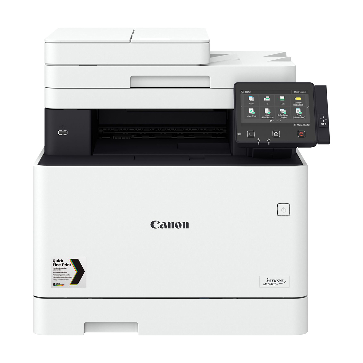 Canon i-SENSYS MF744CDW A4 Colour Laser Multifunction