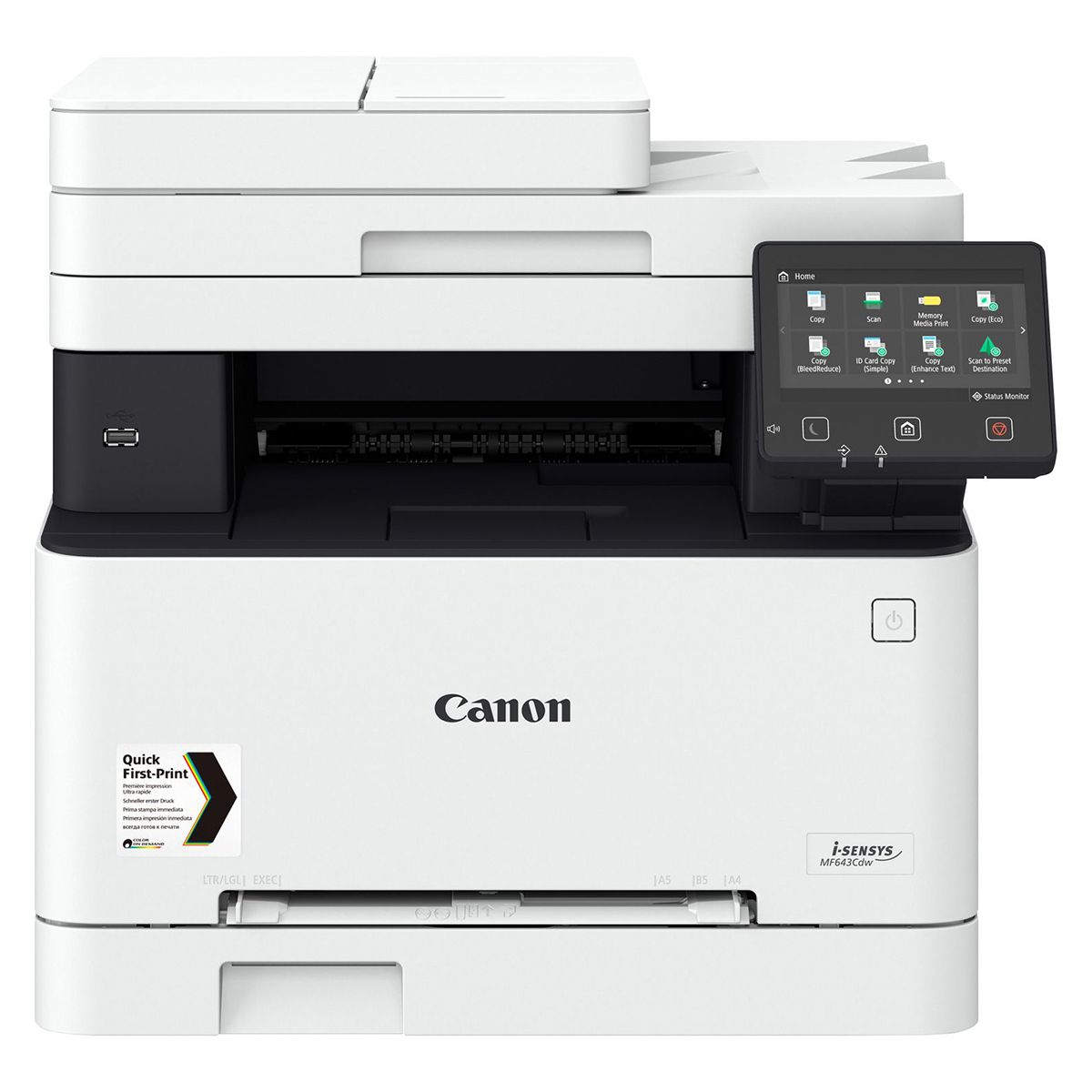 Canon i-SENSYS MF643CDW A4 Colour Laser Multifunction