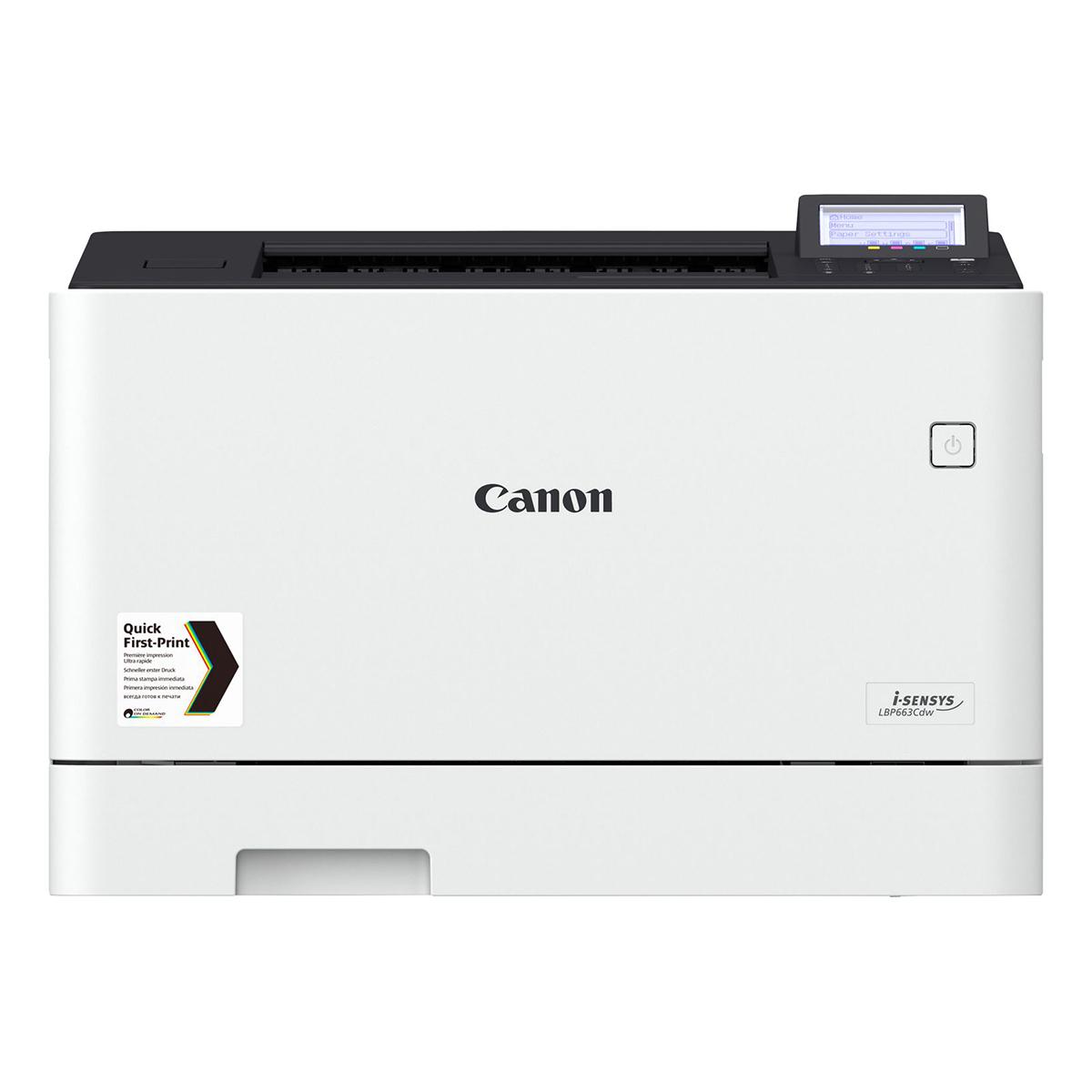 Canon i-SENSYS LBP663CDW Colour A4 Laser Printer