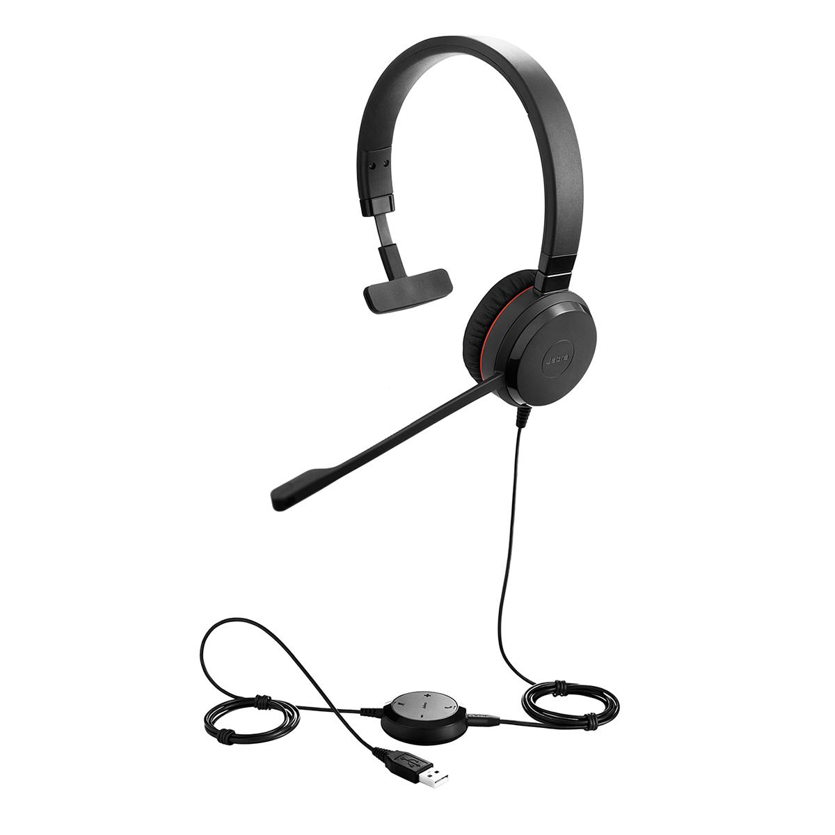 Jabra Evolve 30 II UC NC Mono Headset