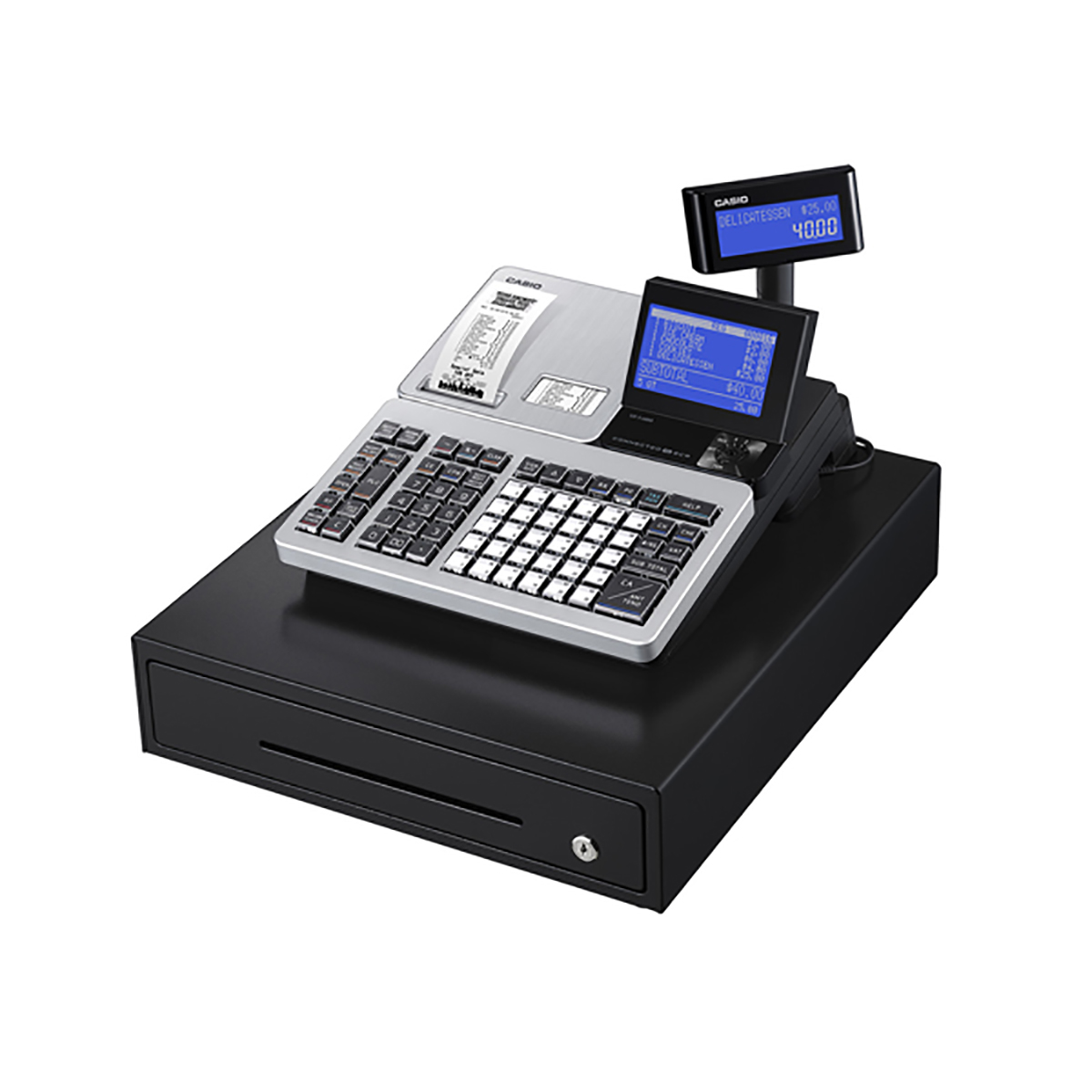 Casio SR-S4000MD Bluetooth Cash Register