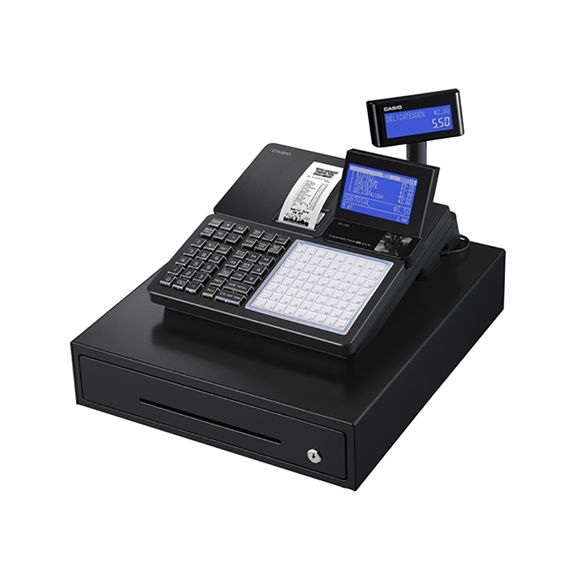 Casio SR-C550MD Bluetooth Combination Cash Register
