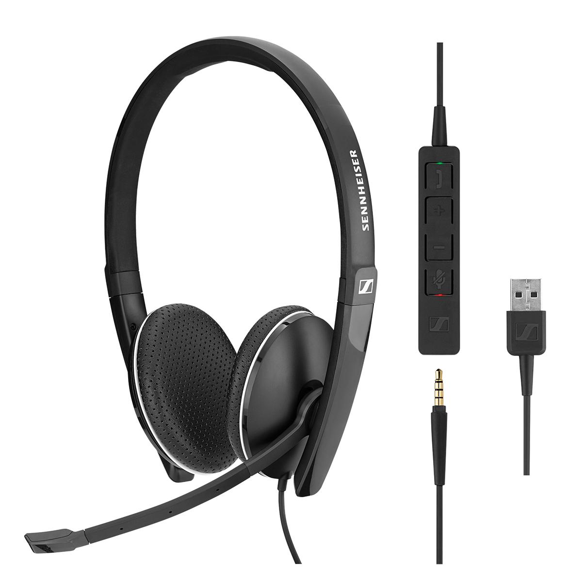 EPOS Sennheiser SC165 USB Stereo Headset