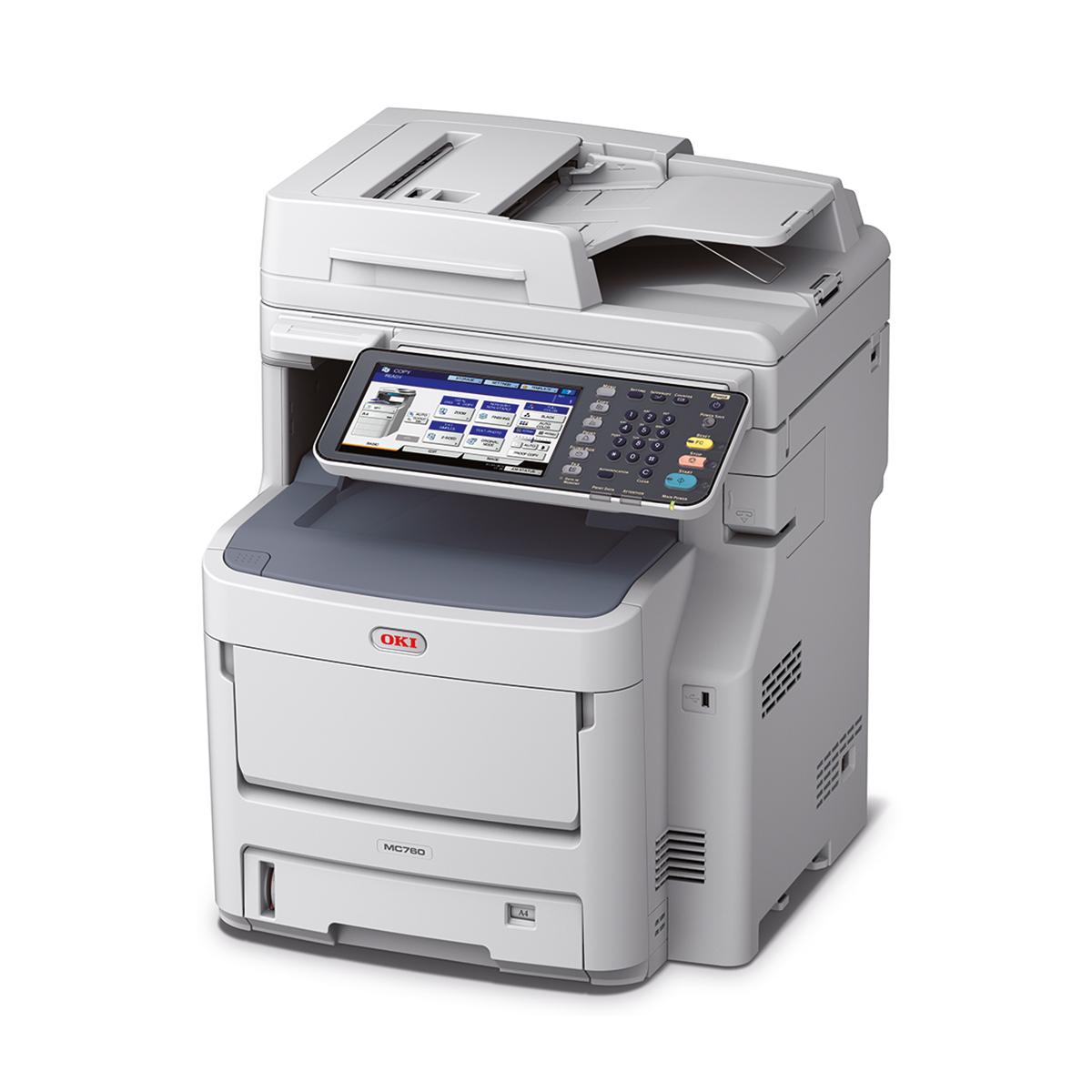 Oki MC760DN A4 Colour Laser Multifunction