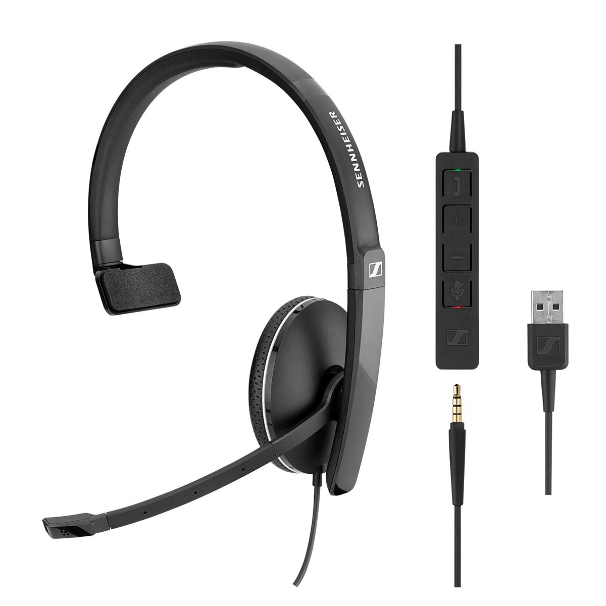 EPOS Sennheiser SC135 USB Mono Headset