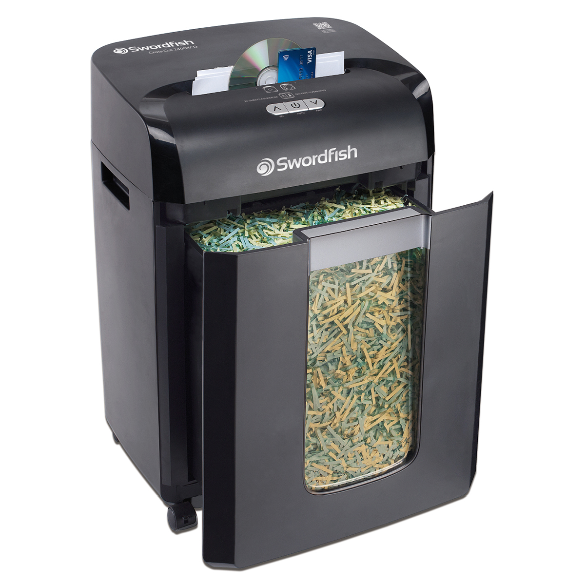 Swordfish 2400XCD Cross Cut Shredder