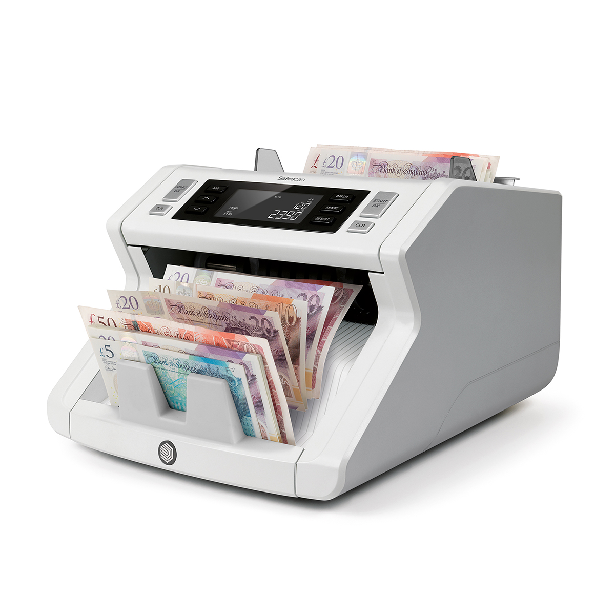 Safescan 2265 Automatic Bank Note Counter with 4 point Detection
