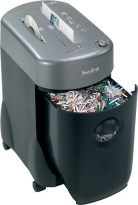 Swordfish 1000XCD Cross Cut Shredder
