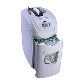 SWORDFISH 1200XCD SECURIA Cross Cut Shredder White