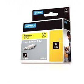 Dymo 18052 6mm Yellow Sleeve - S0718270