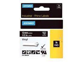 Dymo 1805435 12mm White on Black