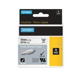 Dymo 18057 19mm white Heat Shrink Tube - S0718330