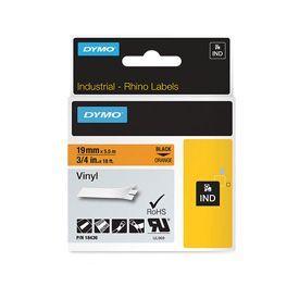 Dymo 18436 19mm Orange Vinyl Tape - S0718500