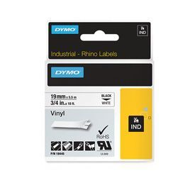Dymo 18445 19mm White Vinyl Tape - S0718620