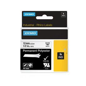 Dymo 18483 12mm White Tape - S0718210