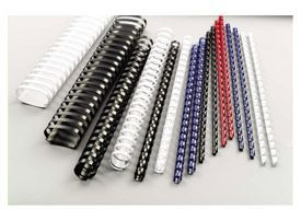 GBC 4028234 8mm Blue Comb Binders