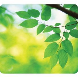 Fellowes 59038 Earth Series Mouse Pad Leaves 6 pack