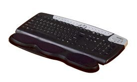 Kensington 62385 Gel Keyboard Wrist Rest Black