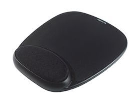 Kensington 62386 Gel Mousepad with Wrist Rest Black