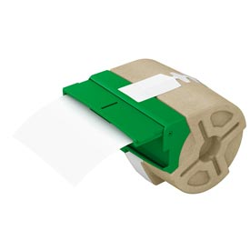 Leitz 70160001 PET Adhesive 88mm Label Cartridge White
