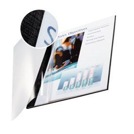 Leitz 74150095 Softcover Linen Finish 10Pk